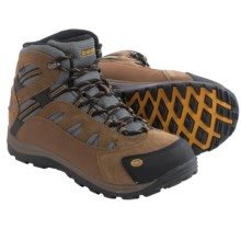 Hi-Tec Bandera Jr. Hiking Boots - Waterproof, Suede (For Little and Big Kids) in Bone/Brown/Mustard - Closeouts
