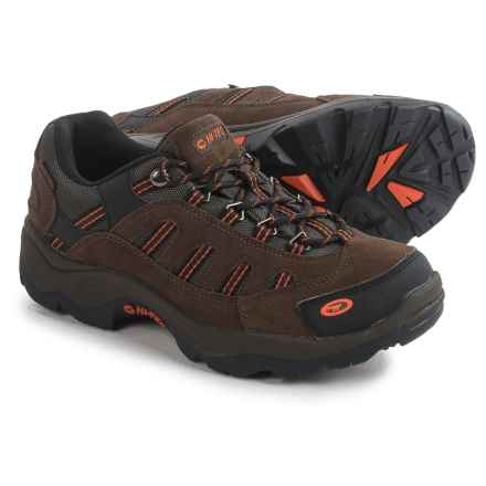 Hi-Tec Bandera Low Hiking Shoes - Waterproof, Suede  (For Men) in Taupe/Gold - Closeouts