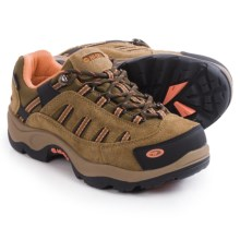 Hi-Tec Bandera Low Hiking Shoes - Waterproof, Suede (For Women) in Desert/Coral - Closeouts