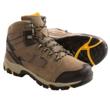 Hi-Tec Borah Peak I Hiking Boots - Waterproof (For Men) in Smokey Brown/Taupe/Gold - Closeouts
