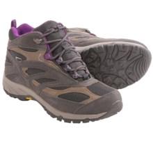Hi-Tec Breathe Mid Hiking Boots - Waterproof (For Women) in Nespresso/Purple - Closeouts