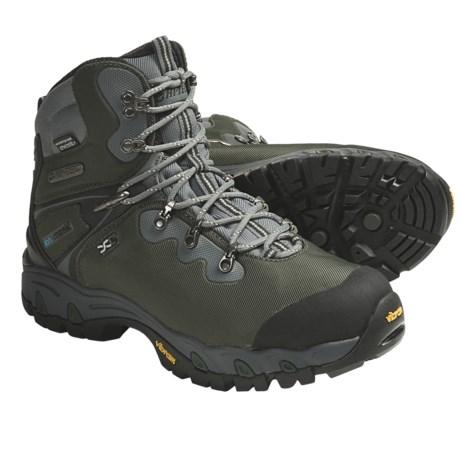 Hi-Tec Cascadia eVent® WPI Hiking Boots (For Men) in Dark Forest/Black/Graphite