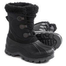 Hi-Tec Cornice Snow Boots - Insulated (For Women) in Black/Grey - Closeouts