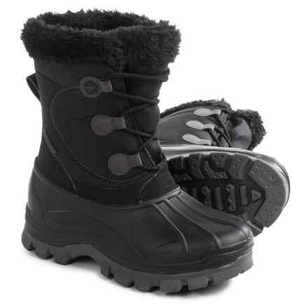 e8019760da0b3 Hi-Tec Cornice Snow Boots - Insulated (For Women) in Black Grey