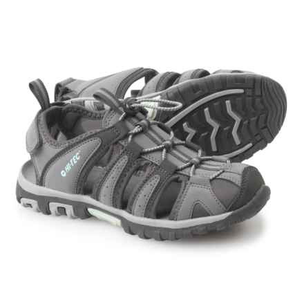 Hi-Tec Cove Sport Sandals (For Women) in Grey/Charcoal/Sprout - Closeouts