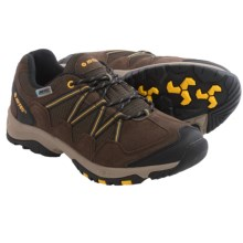 Hi-Tec Dexter Low WP Hiking Shoes - Waterproof (For Men) in Chocolate/Core Gold - Closeouts