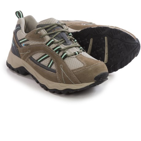 Hi Tec Ethington Low Hiking Shoes Waterproof, Suede (For Women)