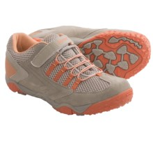 Hi-Tec Figaro Jr. Shoes (For Little and Big Kids) in Grey/Warm Grey/Peachy - Closeouts