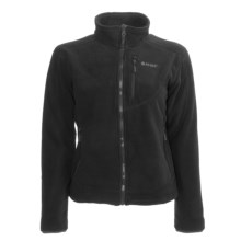 Hi-Tec Fire Island Fleece Jacket (For Women) in Black - Closeouts