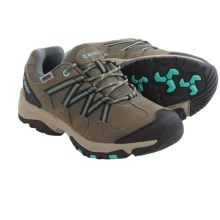 Hi-Tec Florence Low WP Hiking Shoes - Waterproof (For Women) in Taupe/Mint - Closeouts