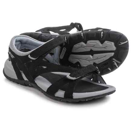 Hi-Tec Galicia Sandals (For Women) in Black/Grey - Closeouts
