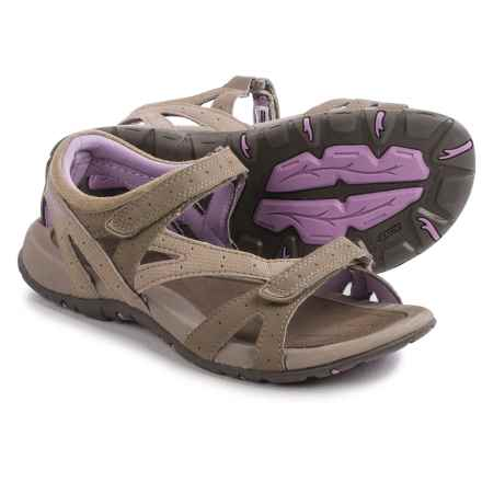 Hi-Tec Galicia Sandals (For Women) in Taupe/Dune/Elderberry - Closeouts