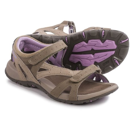 Hi-Tec Galicia Sandals (For Women) in Taupe/Dune/Elderberry