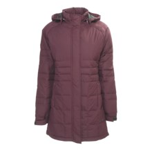 Hi-Tec Madison Avenue Down Parka (For Women) in Bordeaux - Closeouts