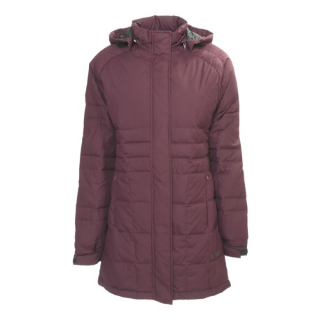 Hi-Tec Madison Avenue Down Parka (For Women) in Bordeaux