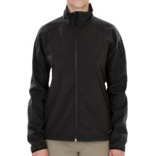 Hi-Tec Misty Mountain  Soft Shell Jacket (For Women) in Black - Closeouts