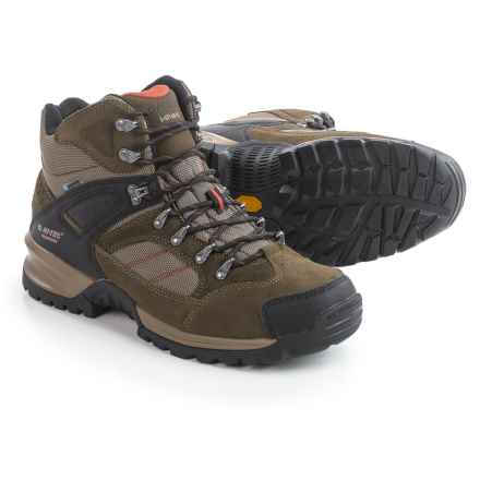 Hi-Tec Mount Diablo I Hiking Boots - Waterproof (For Men) in Smokey Brown/Red Rock - Closeouts
