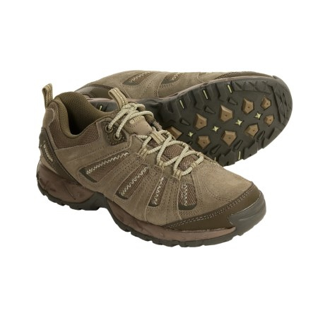 Hi-Tec Multiterra Vector Trail Shoes (For Women) in Taupe/Light Taupe/Olive