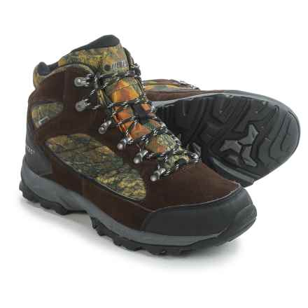 Hi-Tec Oregon 2 Hiking Boots - Waterproof (For Men) in Camo - Closeouts