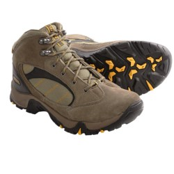 Hi-Tec Osprey Hiking Boots (For Men) in Smokey Brown/Taupe/Gold