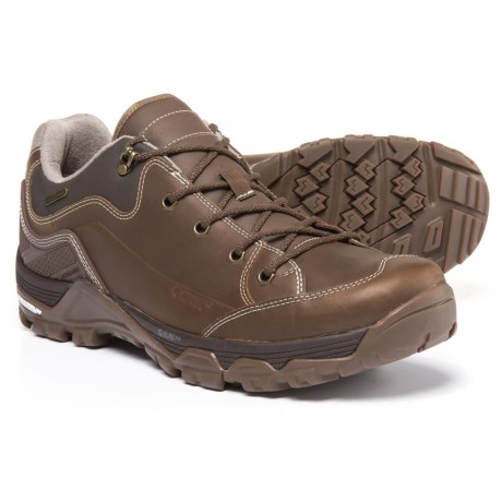 Hi-Tec Ox Discovery Low Hiking Shoes - Waterproof (For Men) in Brown