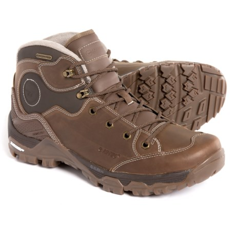 Hi-Tec Ox Discovery Mid I Hiking Boots - Waterproof, Leather (For Men) in Brown