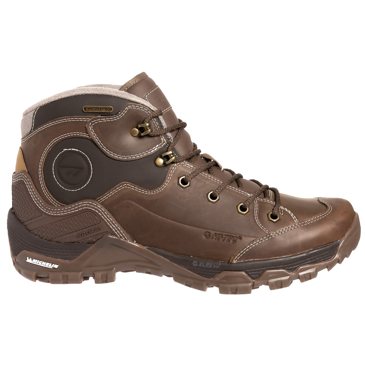 Ox Discovery Mid I Hiking Boots - Waterproof, Leather (For Men)