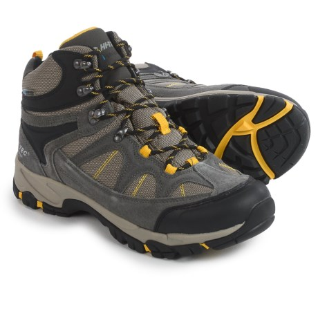 Hi-Tec Peak Lite Mid Hiking Boots - Waterproof (For Men)