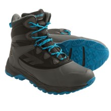 Hi-Tec Phoenix Thermo 200I Snow Boots - Waterproof, Insulated (For Men) in Dark Grey/Prussian Blue - Closeouts