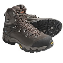 Hi-Tec Rainier eVent® WPI Hiking Boots - Waterproof (For Men) in Chocolate/Dark Taupe/Burnt Orange - Closeouts