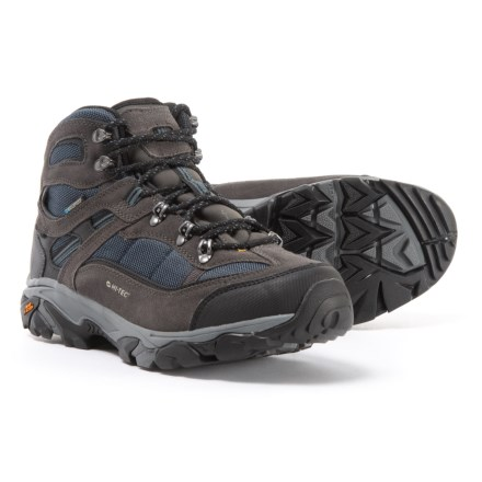 53bd530abfc Hi-Tec Ravus Explorer Mid Hiking Boots - Waterproof (For Men) in Charcoal
