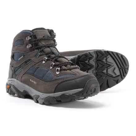 Hi-Tec Ravus Explorer Mid Hiking Boots - Waterproof (For Men) in Charcoal/Night/Cool Grey - Closeouts