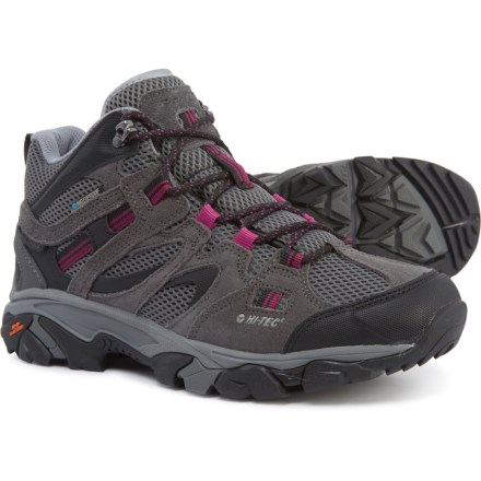 40b3f683885d Hi-Tec Ravus Vent Mid Hiking Boots - Waterproof (For Women) in Charcoal