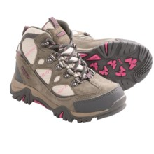 Hi-Tec Renegade Jr. Trail Boots - Waterproof (For Kids and Youth) in Hot Grey/Warm Grey/Rose - Closeouts