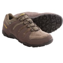Hi-Tec Romsey Low Hiking Shoes - Waterproof (For Men) in Smoky Brown/Chocolate/Core Gold - Closeouts