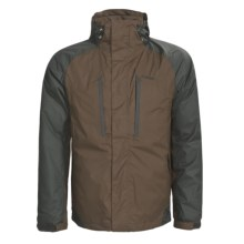 sale item: Hi-tec Sandstone Peak Down Parka Waterproof 3-in-1 550 Fill Power Mens
