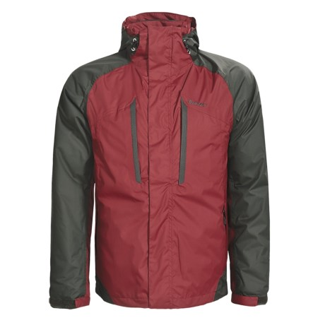 Hi-Tec Sandstone Peak Down Parka - Waterproof, 3-in-1, 550 Fill Power (For Men) in Roma/Charcoal