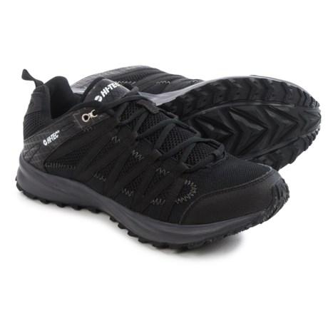 Hi-Tec Sensor Trail Lite Trail Running Shoes (For Men) in Black/Charcoal