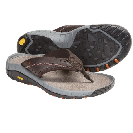 Hi-Tec Sierra Canyon Thong Sandals - Leather (For Men)