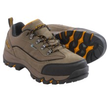 Hi-Tec Skamania Low Hiking Shoes - Waterproof (For Men) in Smokey Brown/Taupe/Gold - Closeouts