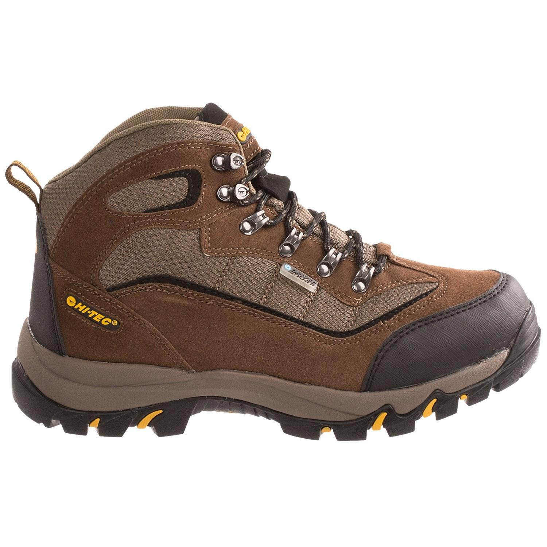 Hi-Tec Skamania Mid Hiking Boots (For Men) - Save 56%