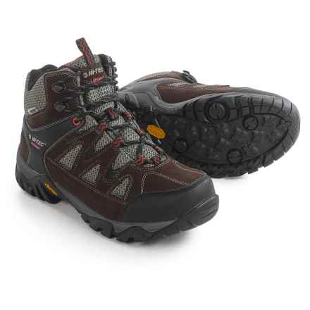 Hi-Tec Sonorous Mid Hiking Boots - Waterproof (For Men) in Chocolate/Red Rock - Closeouts