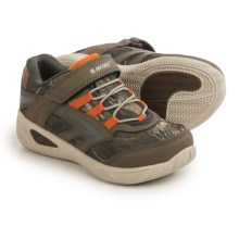 Hi-Tec Thunder Multi Sport Shoes (For Little and Big Kids) in Olive/Camo/Burnt Orange - Closeouts