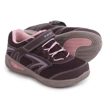 Hi-Tec Thunder Multi Sport Shoes (For Little and Big Kids) in Plum/Elderberry/Rose - Closeouts