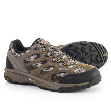 Hi-Tec Trail Blazer Low Hiking Shoes - Waterproof (For Men) in Tan - Closeouts