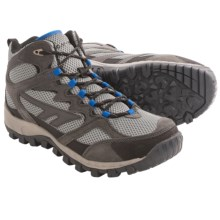 Hi-Tec Trail Blazer Mid Hiking Boots (For Men) in Charcoal/Black/Blue - Closeouts