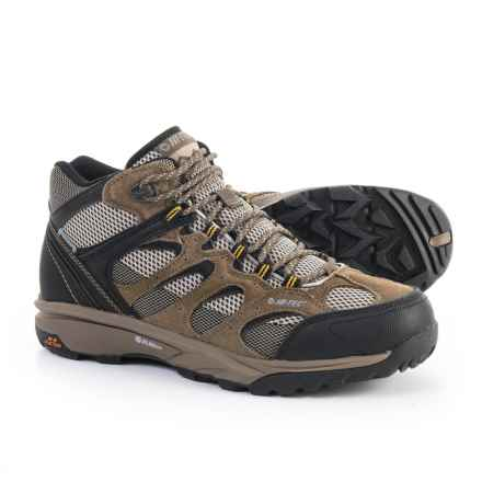 Hi-Tec Trail Blazer Mid Hiking Boots - Waterproof (For Men) in Tan - Closeouts