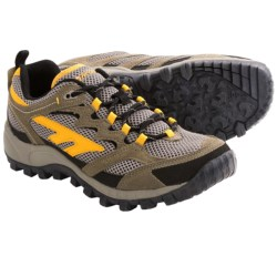 Hi-Tec Trail Blazer Trail Shoes (For Men) in Charcoal/Blue/Black