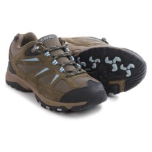 Hi-Tec Trail II Hiking Shoes - Suede (For Women) in Dark Taupe/Powder Blue - Closeouts