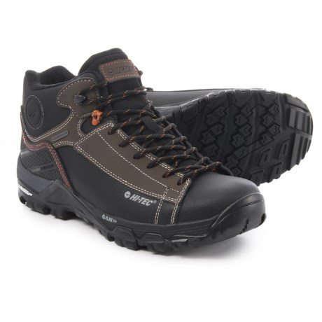 Hi-Tec Trail Ox Chukka I Hiking Boots - Waterproof (For Men) in Chocolate/Burnt Orange